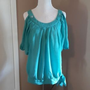 Paper Tee blouse size M